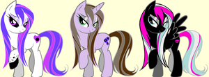 Wet Mane Pony Adopts 1 (OPEN) by waterflamewerewolf