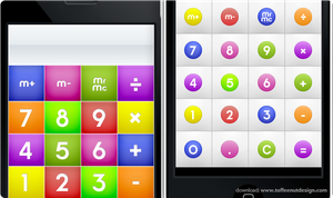 iPhone: CandyMilk Calculator by ToffeeNut