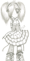 +Gothic Lolita+ by SakurazWings