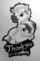 Thank you by LupiArts