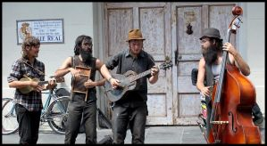 French Quarter Street Band by SalemCat