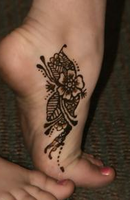 Foot Mehndi by Winni-fred