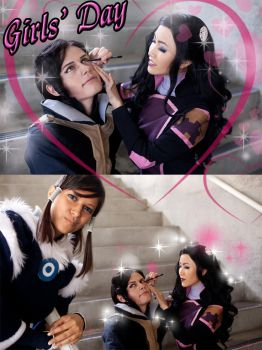 LoK: GIRLY DAAAAAAAY by the-sushi-monster
