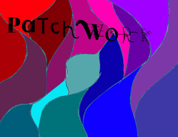 PaTcHWoRk presentation front cover. by cats50