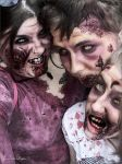 Zombuddies by spookyspinster