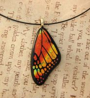 Fall Splendor Glass Wing by FusedElegance