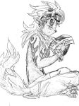 Flamon Sketchie by bluecrysto
