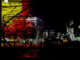 Abstract night by TOHA1K