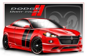 DODGE DART COUPE CONCEPT by hadimadworks