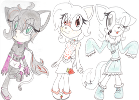 more adopts by SonicAdoptibles101