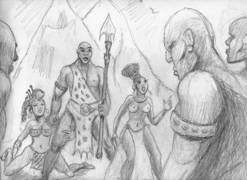 The Giants from The Blood of Titans by werewolfwriter