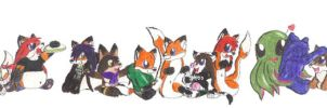 Everybody Chibi by PieMan24601