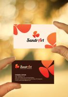 SandrArt Business Card by Evey90