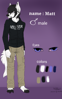 Matt reference (commission for Mattehboi ) by BrightyFL
