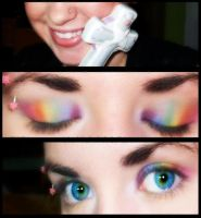 Pride Makeup. by EyelessDonovan