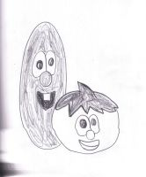 Bob and larry Sketch from Febuary 2013 by SonicClone