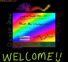 DoodleDraw signinpage concept by hyruchewey