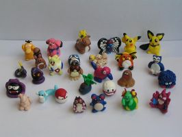 mini pokemon by CJM99