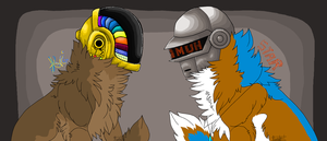 Daft Punk by SunsetSarsaparilla13