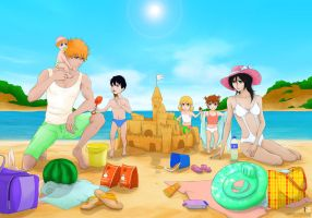 DTs IchiRuki Family - Summer Holidays by Kotik-Stells