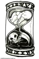 Your Life's Hourglass by schizoidsprite