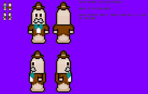 MLSS Mayor L. Blustergas Sprite Preview by FaisalAden