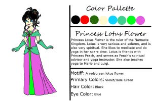 Purchased OC: Princess Lotus by kcjedi89
