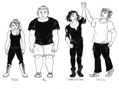 Divergent characters by clockworkparadox