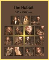 The Hobbit - icons by Nadine2390