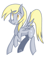 Mini Derpy by Doomcakes