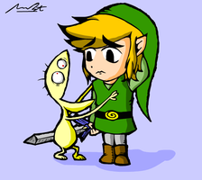 Link and Cheese by DrQArt