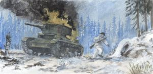 Winter War in the Frontline 2 by tuomaskoivurinne