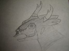 Zombie deer by HunterStrait