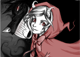Little Red Riding Hood-collab by Reicandy