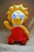 My plushie Lisa by GladiatorRomanus