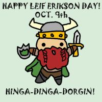 Leif Erikson Day by Nine-Tailed-Fox