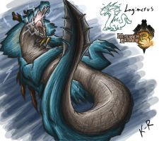 MHTri Day 26 Lagiacrus by Frost8