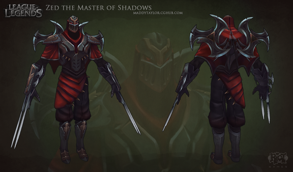 LoL: Zed the Master of Shadows by MissMaddyTaylor