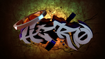 Hero Typography Graffiti by PinguAlex