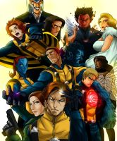 X-Men: First Class by DarroldHansen