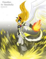 TF OC: Flameflare by BloodyChaser