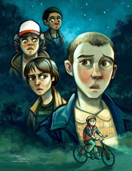 Stranger Things by danidraws