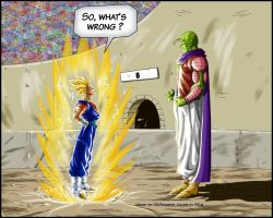 -DBM- Vegetto VS Super namek - color BK-81 by DBZwarrior