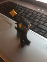 Luxray Clay by UntouchedRayne