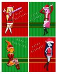 Adventure Time - Happy Holidays by YunaSakura