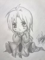 Edward Elric Chibi Style by Ronnall405