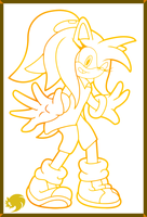 Ruth the Hedgehog's Gift 1 by Fuzon-S