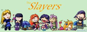 The Slayers Group by Swish42