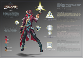 ARCANE - Warframe Fan Concept by TravisHarris