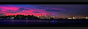 Sydney Sunset by psyfre